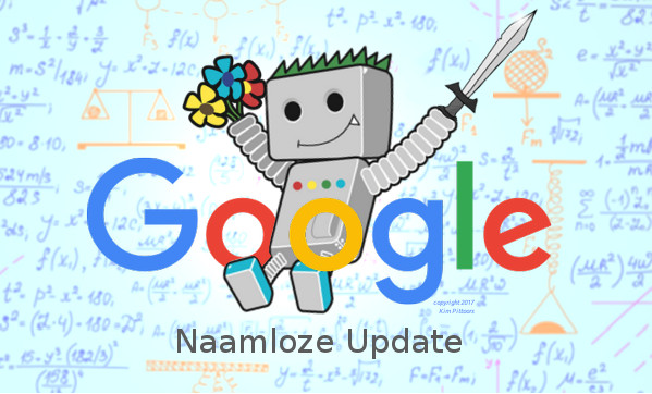 Naamloze Google update