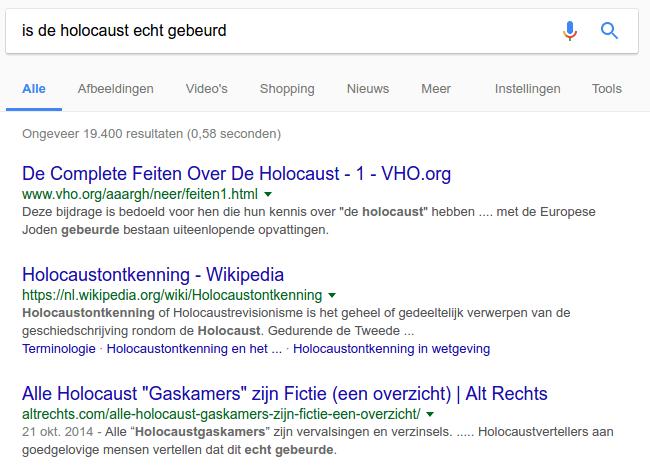 Is de holocaust echt gebeurd