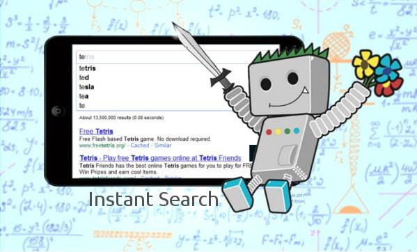 Google Instant Search Verwijderd
