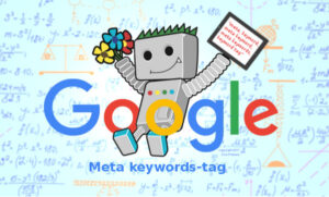 Google negeert meta keywords-tag