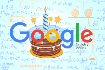 Google Birthday Update